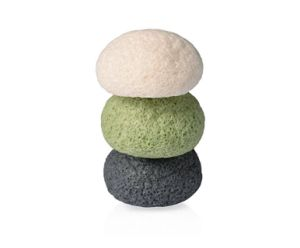 Organic Green Tea Konjac Sponge Customized Box and Logo Package Face Clean Sponge Soft Dry Konjac pictures & photos