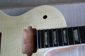 Hanhai Music / Lp Style Electric Guitar Kit with Mahogany (DIY guitar) pictures & photos
