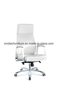 Low Price Comfortable Leather Swivel Chair for Boss pictures & photos