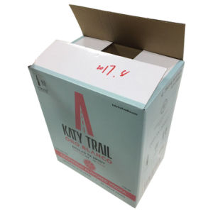 6 Pack Wine Bottle Carrying Carton with Dividers (FP6076) pictures & photos