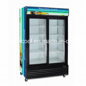 Supermarket Commercial Upright Showcase Cooler with Ce. CB. RoHS, ETL Approved pictures & photos