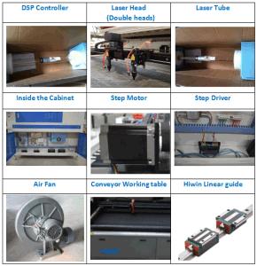 Filter Sponge EVA Laser Cutting Machine Ts-160100 pictures & photos