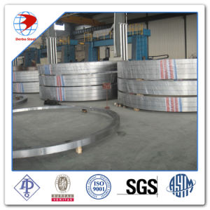 Air Duct ASTM A105 RF Galvanized Slip on Forged Steel Pipe Flange pictures & photos