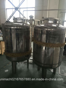 Dual-Layer Storage Tank (vertical, side or no agitator) pictures & photos