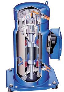 Refrigeration Parts Scroll Compressor Sm, Sy, Sz Series pictures & photos