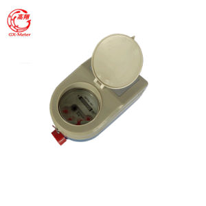 Waterproof Prepaid Water Flow Meter with Motor Valve pictures & photos