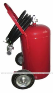 Mexico Type 25kg Dry Powder Trolley Fire Extinguisher pictures & photos