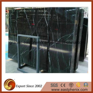 Nero Marquina Black Marble for Flooring/Wall/Bathroom Tile pictures & photos