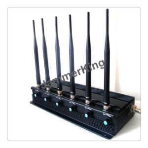 Multifunctional 2g 3G 4G Cell Phone Signal Jammer WiFi Blocker/ High Power 3G Phone Jammer WiFi GPS Lojack UHF VHF Jammer pictures & photos