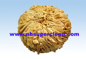Pure Leather Car Wash Sponge, Real Leather Chamois Sponge (CN3261) pictures & photos