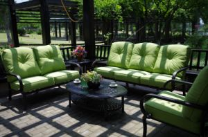 Comfortable Chat Sofa Set Garden Cast Aluminum Furniture pictures & photos