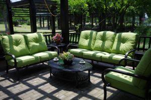 Comfortable Chat Sofa Set Outdoor Cast Aluminum Furniture pictures & photos