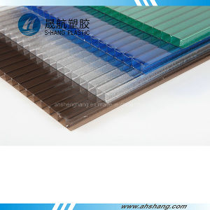 Brilliant Polycarbonate PC Hollow Plastic Panel with UV Layer pictures & photos