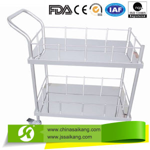 Purchased by Many Famous Hospitals Stainless Steel Medicine Trolley pictures & photos