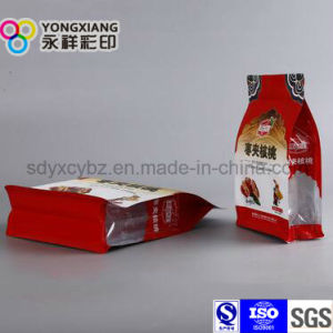 Dried Fruit Quad Bottom Plastic Packaging Bag pictures & photos