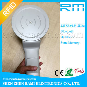 134.2kHz 125kHz RFID Animal Tag Reader for Fdx-B USB and Bluetooth pictures & photos