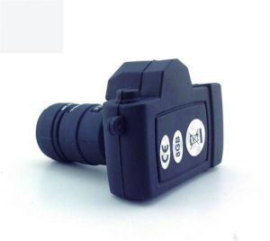 Eco Friendly! PVC Rubber Camera Custom USB Flash Drive 3D PVC ODM/OEM Service High Quallity Memory Disk pictures & photos