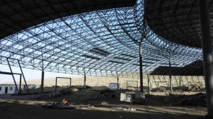 Prefabricated Steel Space Frame Baseball Stadium Hall Gym pictures & photos