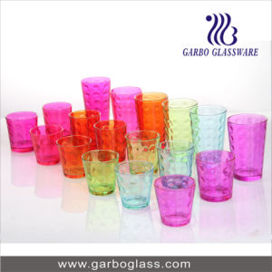 18PCS Colored Water Glass Set (GB27009YD-P) pictures & photos