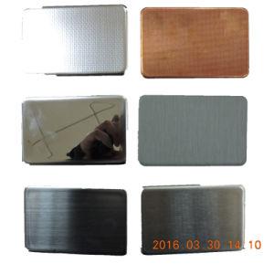 Alucosuper Silver Mirror Aluminum Composite Panel pictures & photos