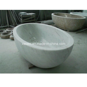 Stone Marble Shower Tub Standard Bathtub Size for SPA Baths pictures & photos