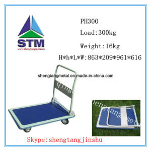 pH150 Four Wheels Foldable Hand Trolley/Platform Hand Truck
