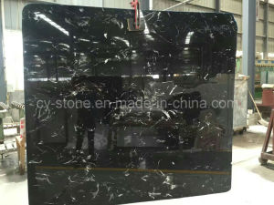 Chinese Black Marble Slabs for Wall and Flooring Tile