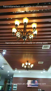 High Quality WPC Moisture Proof Decorative PVC Ceiling pictures & photos