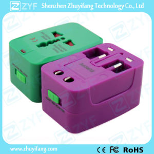 Various Colors All-in-One Plug Adapter with Logo (ZYF9011) pictures & photos