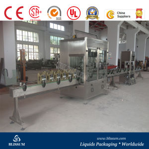 Pet Bottled Linear Type Edible Oil Filling Machine pictures & photos
