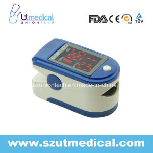 Pulse Oximete with SpO2 Value, Pulse Rate Value, Bar Graph Display