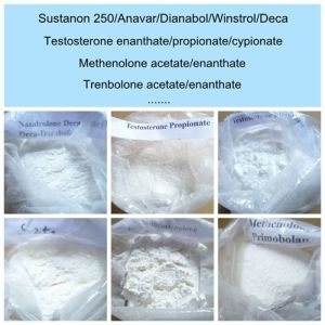 Anabolic Steroid Powder Drostanolone Enanthate in Fresh Stock pictures & photos