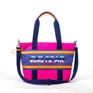 2015 Newest Washed Fabric Fashion Lady Handbag (QN-47C)