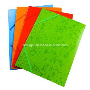 A4 Index Divider Twin Pocket Folders 2 Pockets Presentation Art Paper File Folder for Ring Binder pictures & photos