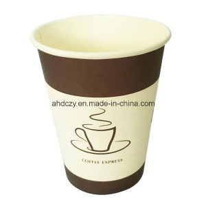 Colorful Printed 12oz Disposable Single Wall Paper Cup From China pictures & photos