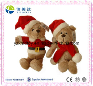 12 Inches Nice Christmas Child Gift 2015 Plush Teddy Bear Toy pictures & photos