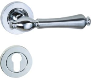 Zinc Alloy Mortise Door Handle Lock, Rostee Handle (A85-1190) pictures & photos