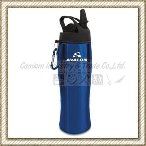 Stainless Steel Water Bottle with Lid (CL1C-G108) pictures & photos