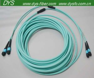 MPO Connector Fiber Optic Patch Cord pictures & photos