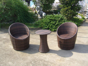 Wicker Rattan Sectional Lounge Chair Garden Outdoor Furniture (FS-2540+FS-2541) pictures & photos