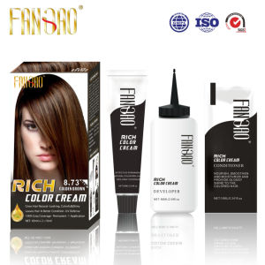 Shiny Natural Looking Colorful Moistutizing Hair Color Dye
