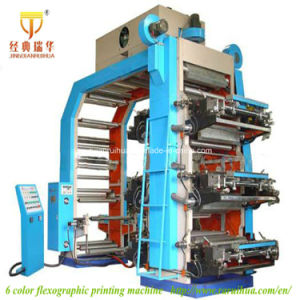 Six Colors Flexographic Printing Machine (GYT) pictures & photos