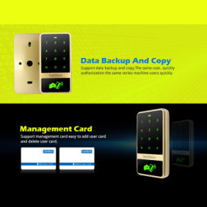 Metal Touch-Screen RFID Access Control Wiegand Ouput Support Use as a Wiegand Card Reader pictures & photos