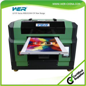 Ce Certificate High Advanced A3 LED UV Printer for Phone Case and Pen pictures & photos