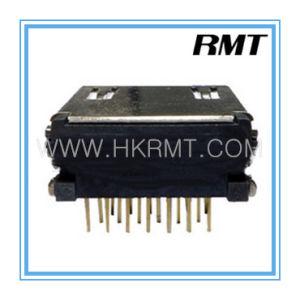 HDMI 19 Female Terminal DIP Connector (RMT-160325-025) pictures & photos