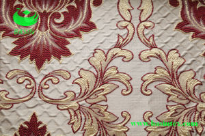 Polyester Jacquard Curtain Fabric (BS1307) pictures & photos