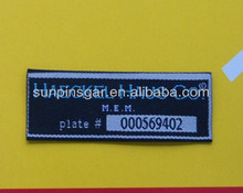 Custom Woven Labels for Clothing pictures & photos