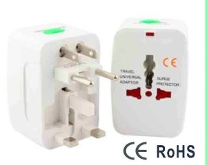 CE Approved Surge Protector Travel Universal Adaptor pictures & photos