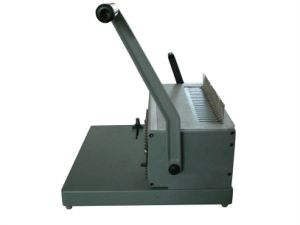 Manual Punching and Comb Binding Machine with Aluminum Metarial (SUPER21 PLUS) pictures & photos
