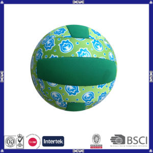 PU Machined Stitched Volleyball Customized Logo pictures & photos